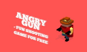 Angry Gun: fun shooting voxel game for free