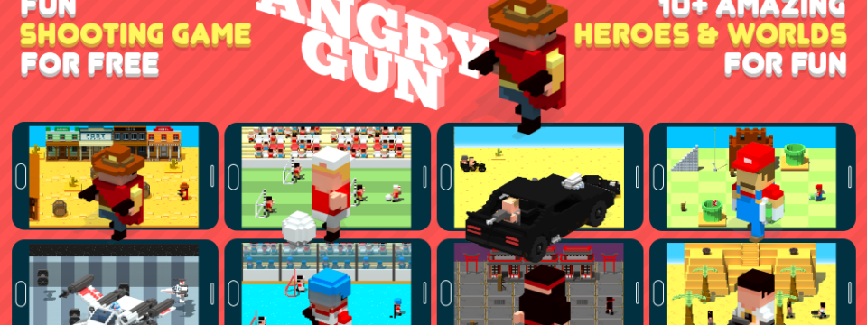 Angry Gun: fun shooting game for free